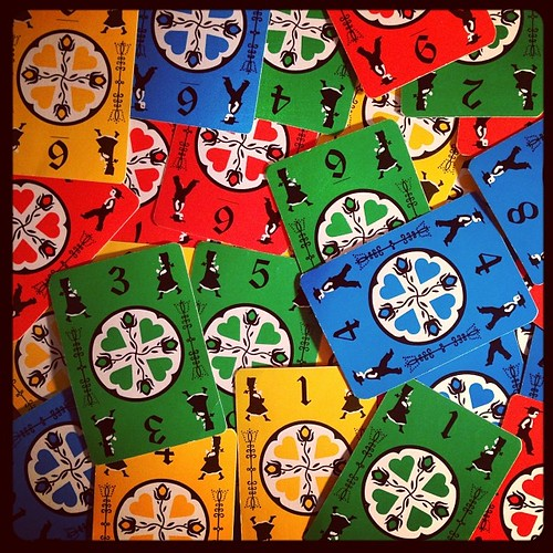 #fmsphotoaday January 26 - Fun stuff! My very favourite game, Dutch Blitz.