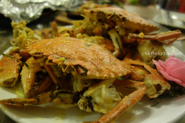 Gu Ma Jia Buttered salted egg yolk Sri lanka crabs