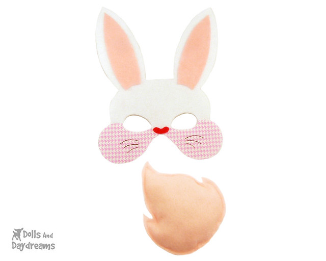 Easter Bunny Rabbit Mask