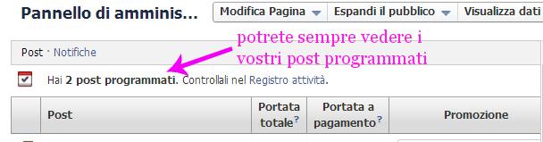 come programmare i post su facebook, programmazionefb4a