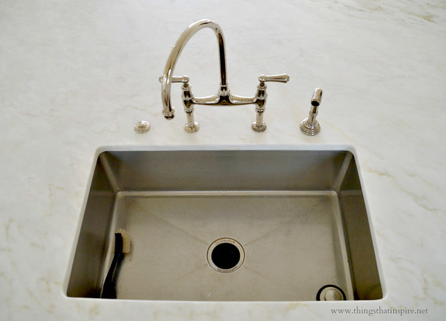 Things That Inspire: My kitchen sink and faucet