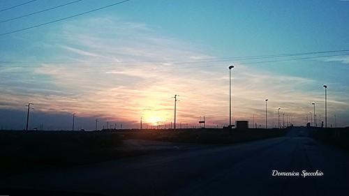 tramonto Manfredonia (FG) by Domenica Specchio