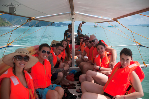 Guests on Tour, El Nido, Palawan