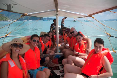 Guests on Tour, El Nido, Palawan