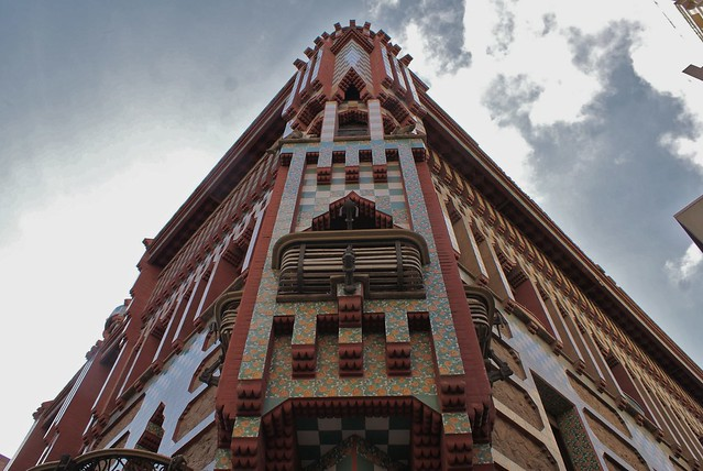 > Un coin de la Casa Vicens à Barcelone.