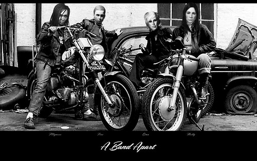 A Band Apart Biker Babes Wallpaper