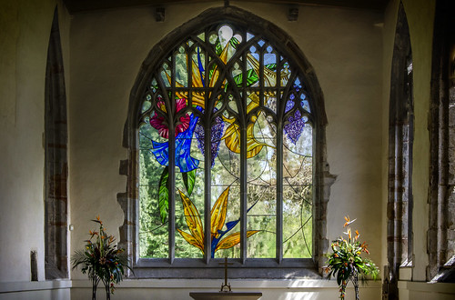 Contemporary stained glass windows flickr photo sharing for St mary redcliffe swimming pool