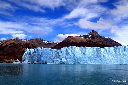 Perito Moreno Glacier from the lake