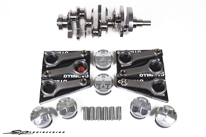 SP Engineering's 4.1L Stroker Kit for 2009-2015 Nissan R35 GT-R