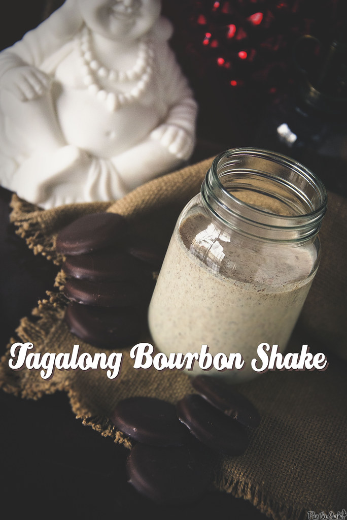Tagalong Bourbon Shakes for One - Pass The Sushi