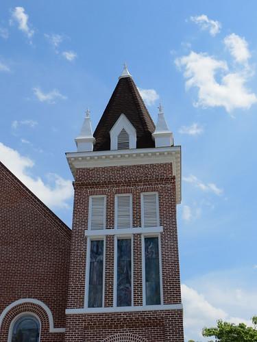 First Baptist Steeple Abbeville AL