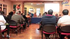 Jornada de capacitación a militantes por reforma tributaria y de educación