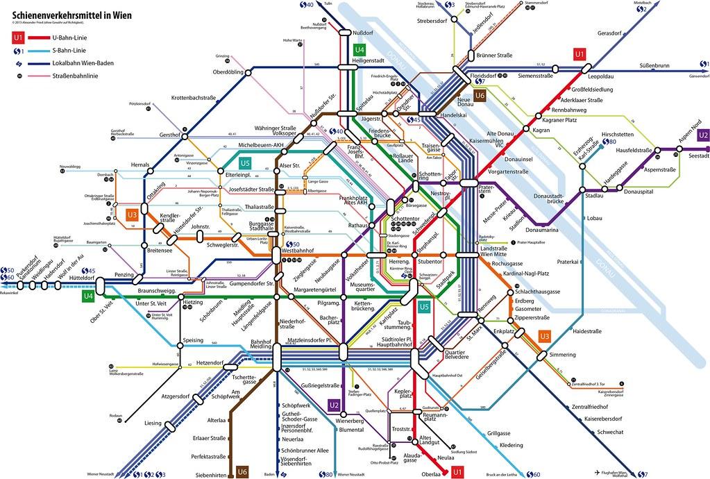u Bahn Wien u5 U-bahn Inkl u5 S-bahn