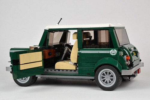 Lego Creator Expert 10242 Mini Cooper Mk Vii Review Brickset Lego