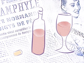 pink wine + Populaire = Thursday night