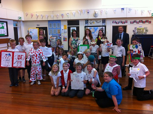 Le Tour Enterprise at Wooldale Junior School