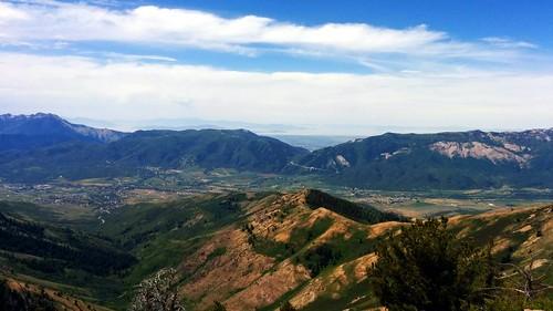 mountains utah view hiking summertime eden powdermountain skimountain jamespeak powmow