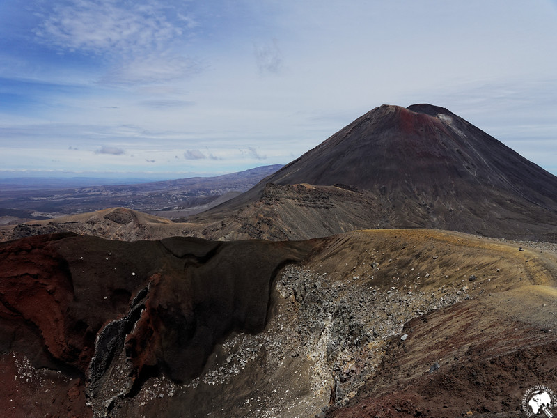 Red crater et Ngauruhoe