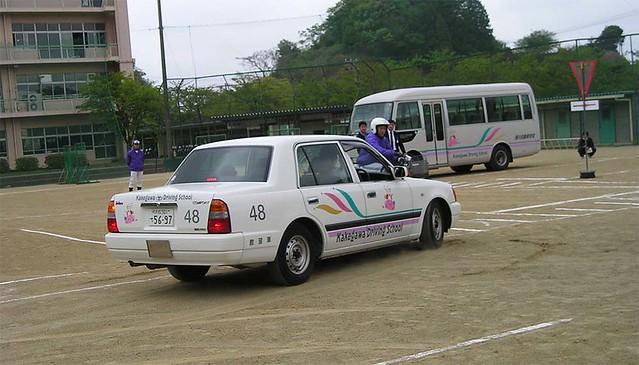 Автошкола в Японии