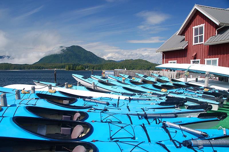 Meares Landing, Tofino, West Coast Vancouver Island, British Columbia