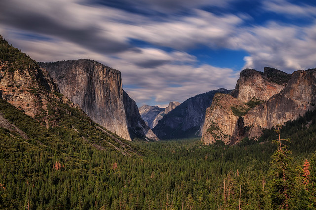 Clouds Over Tunnel View