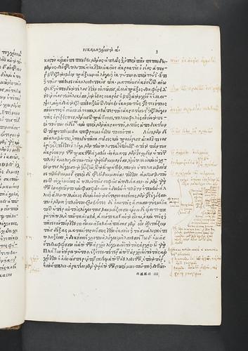 Manuscript annotations in Aristoteles: Ethica Nicomachea [Greek]