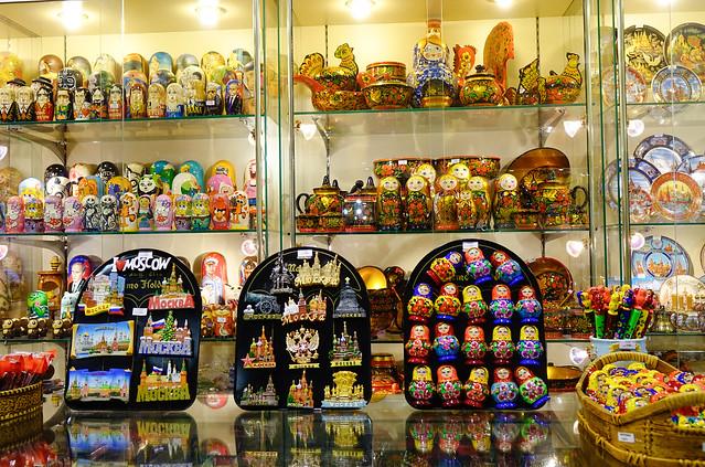The traditional handmade dolls