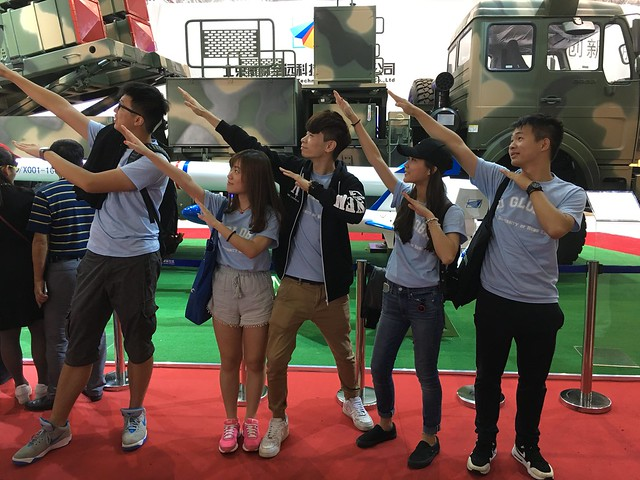 Visit to Airshow China 2016 (7 Nov 2016)
