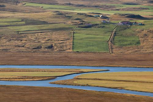 hnjúkur vatnsdalur iceland vatnsdalsá húnavatnssýsla farm river october 2016