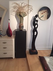 Black Laminate Pedestals