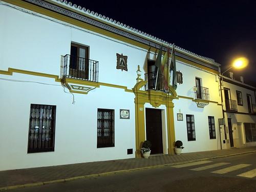 <Nocturna Ayuntamiento> Aznalcazar (Sevilla)