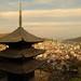 Pagoda at afternoon by Teruhide Tomori
