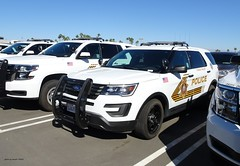 Yucca Valley CA Police - under contract from San Bernardino County Sheriff's Department - Ford Police Interceptor Utility