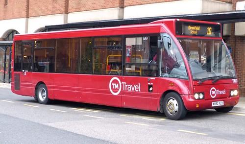 MW52 PZD 'TM Travel' No. 1160 Optare Solo on Dennis Basford's 'railsroadsrunways.blogspot.co.uk'