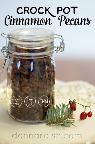 Crock Pot Cinnamon Pecans2