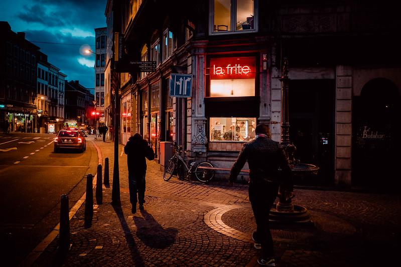 La frite, Liège, Belgium