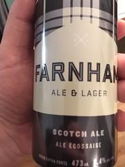 Beersperiment: Farrnham Ale & Lager (Quebec) me: nom! 4* @Halyam 3*
