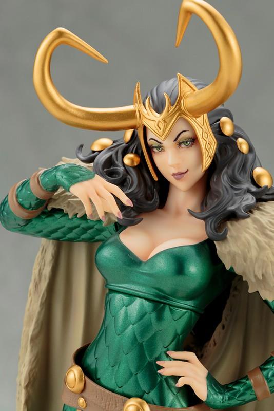 【完整官圖、販售資訊更新】壽屋 MARVEL 美少女系列【洛基小姐】Lady Loki 1/7 比例全身雕像作品