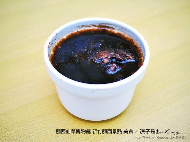 關西仙草博物館 新竹關西景點 美食 46
