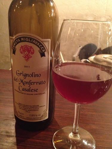 2011 Tenuta Migliavacca Grignolino del Monferrato Casalese@クオーレ・フォルテ(Cuore forte)