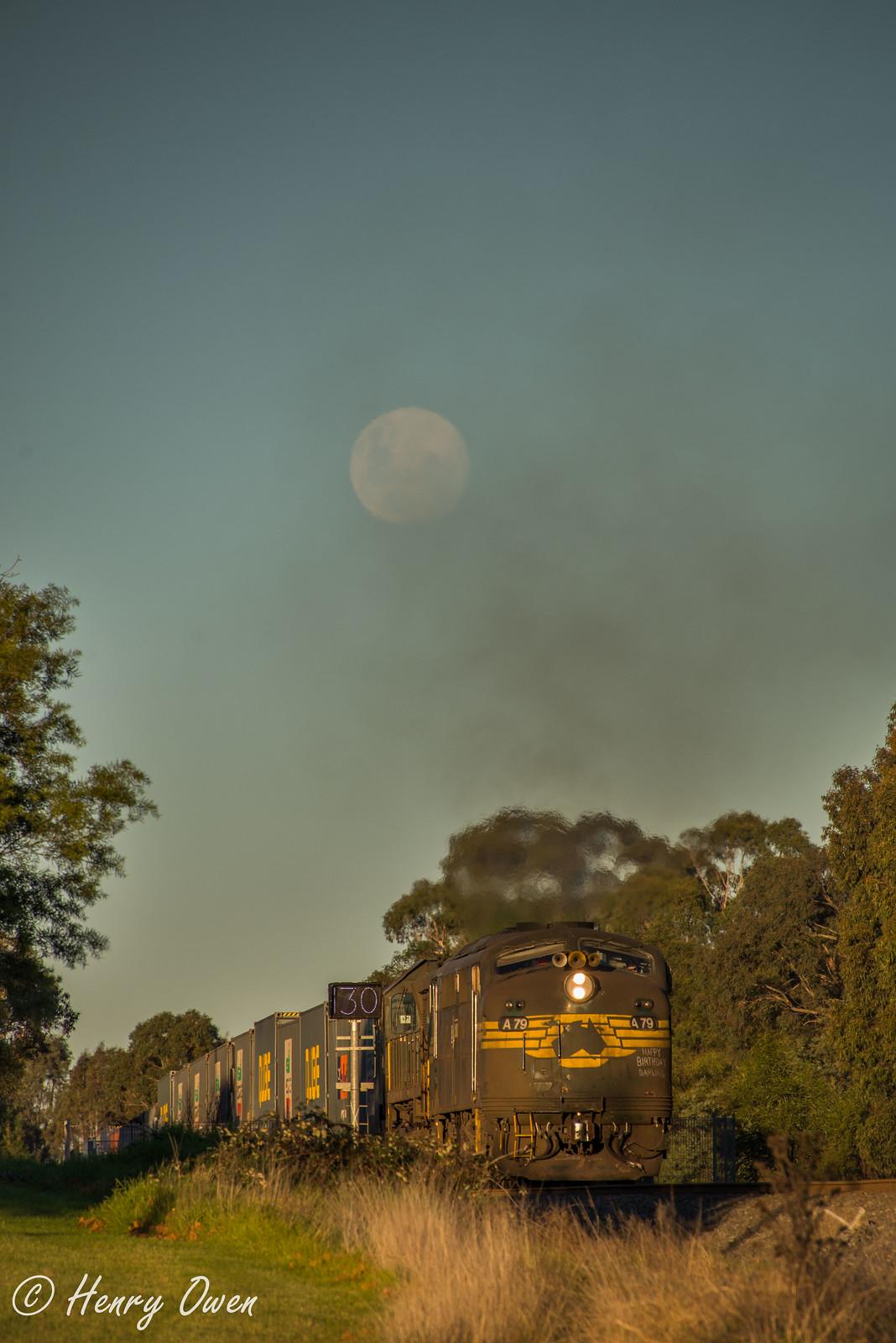 99% Moon by Henry Owen