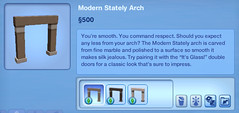 Modern Stately Arch