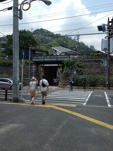 ロープウェイへ by haruhiko_iyota