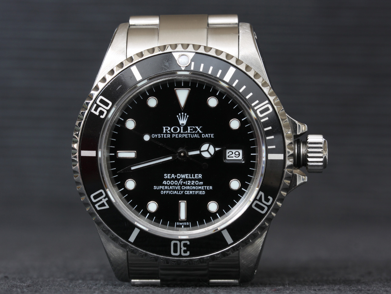 First Rolex 16600 Swiss Dial Sea Dweller