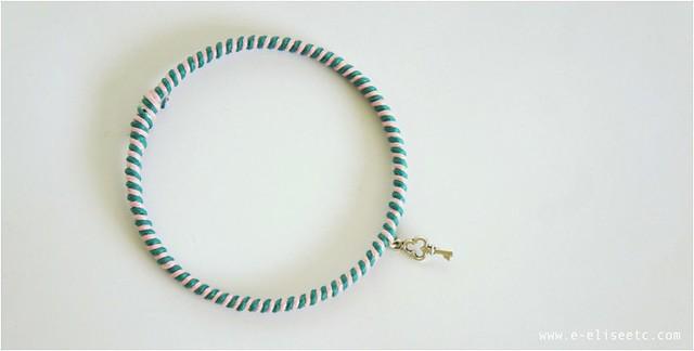 diy kate spade bracelet 8