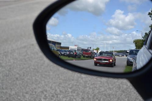 ford 1969 mirror view rear rearviewmirror mustang alleycats catscruise´nmeet regnrdm69709