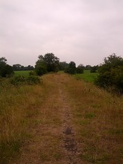 Former railway line out of Grimsargh