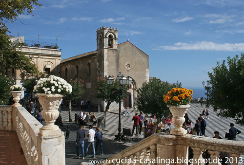 Taormina Hauptplatz