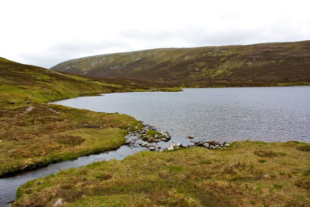 Loch nan Eun outflow