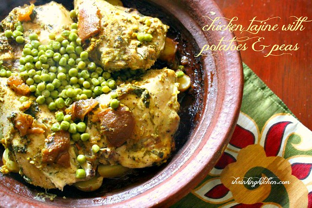 Chicken Tajine with Potatoes and Peas (1)